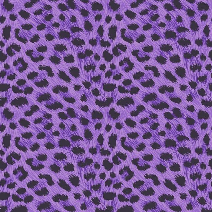 Fine decor furs leopard animal print designer feature - Purple cheetah print background ...