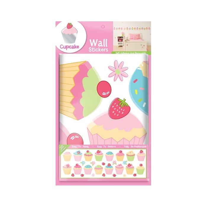fun4walls cupcake wall stickers stikarounds ebay thomas the tank engine no1 stikarounds wall stickers 32 pieces