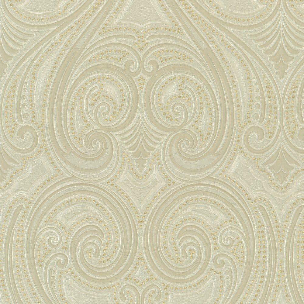 Belgravia Decor Kashmir Wallpaper Taupe Gold Ebay