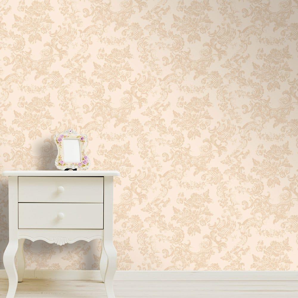 antique cream wallpaper - photo #32