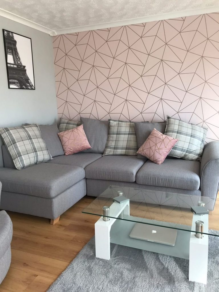 Wallpaper Designs For Living Room: Living Room Decorating Ideas