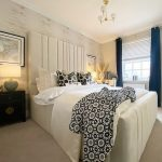 Luxurious Master Bedroom with Venice Wallpaper