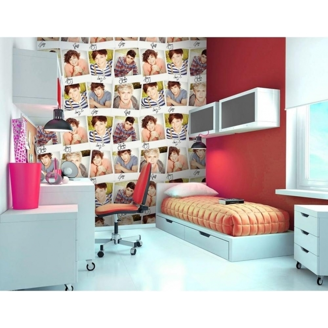 1 Wall Official One Direction Collage Wall Mural 1D