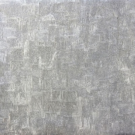 A La Mode Foil Metallic Wallpaper Silver