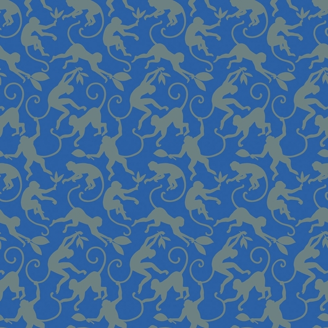 A Shade Wilder Monkey Business Designer Wallpaper Storm (300076)