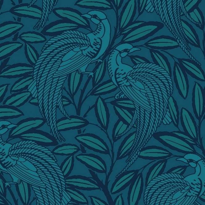 A Shade Wilder Tailfeather Peacock Designer Flock