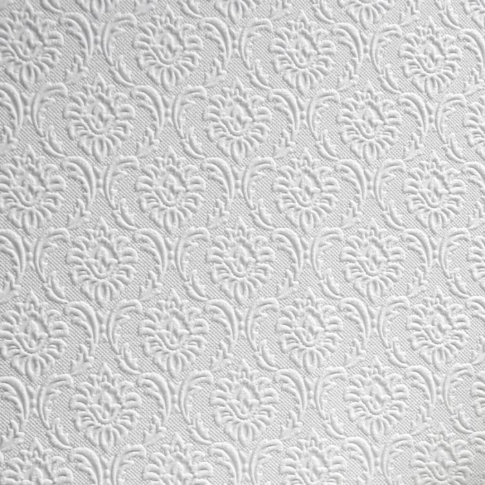 Exceptionnel Cornelian Textured Paintable Wallpaper White(RD842)