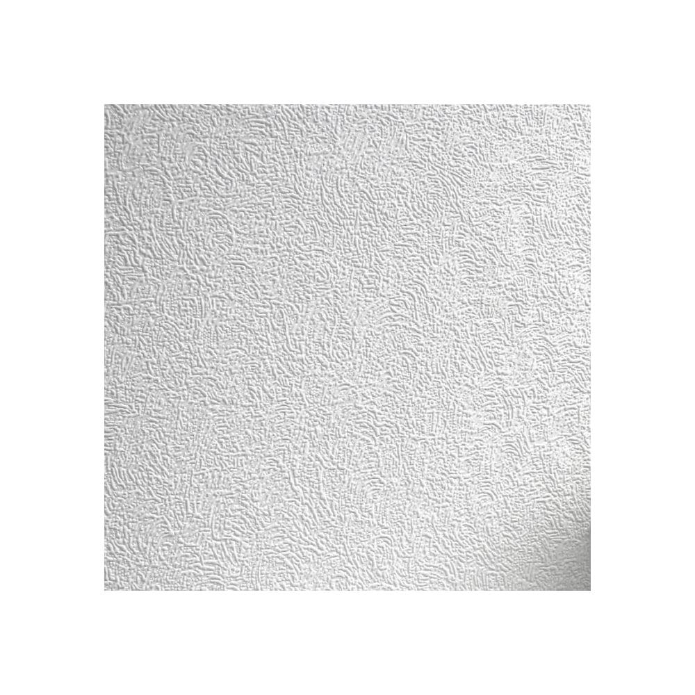 Luxury Texture Topaz Paintable Wallpaper White (RD978)