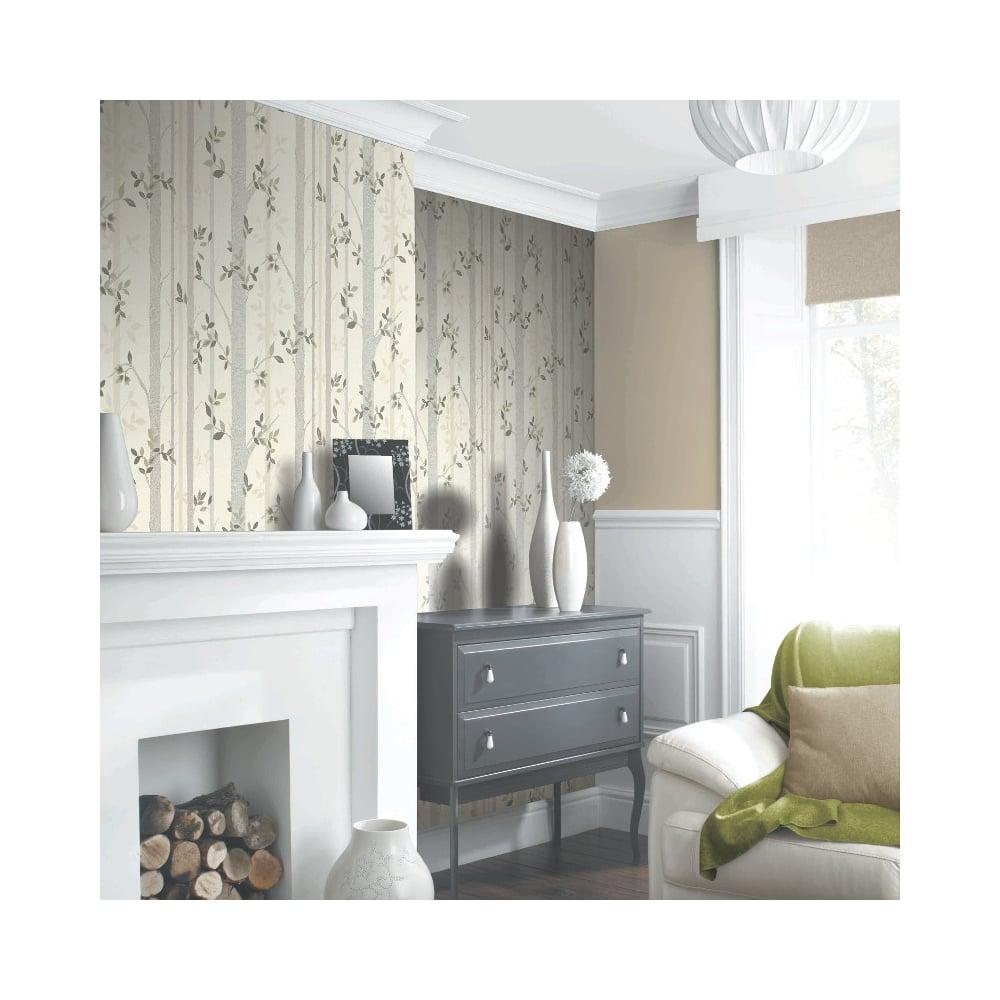 Birchtree Wallpaper Neutral (871702)