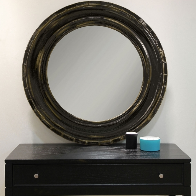 Arthouse Driftwood Circular Mirror (300064)