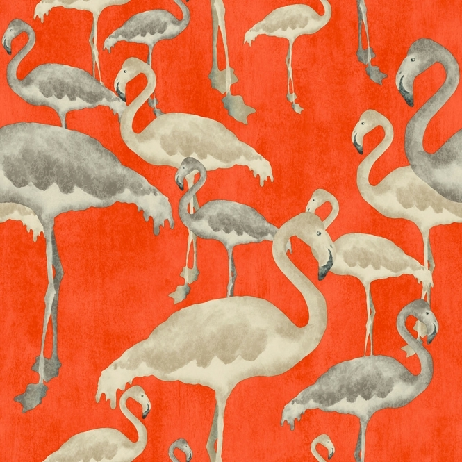 Arthouse Flamingo Beach Wallpaper Calypso (300086)