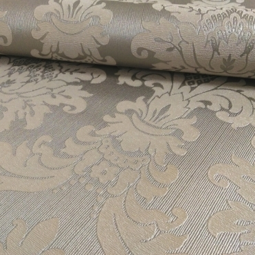 Messina Damask Wallpaper Silver (261004)