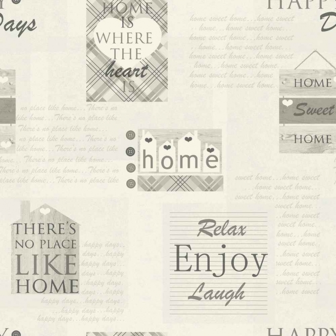 Arthouse Opera Happy Days Wallpaper Charcoal (888600)