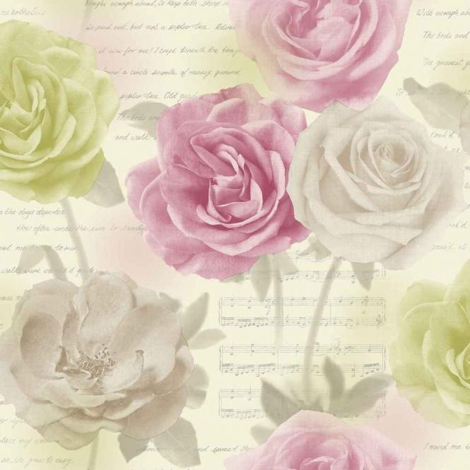 Opera Rose Garden Pink, Green (650803)
