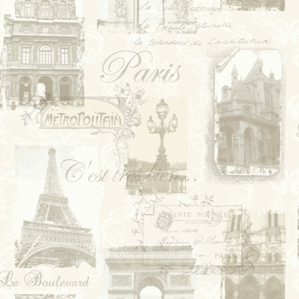 Arthouse Paris Wallpaper Neutral 692000 Wallpaper From