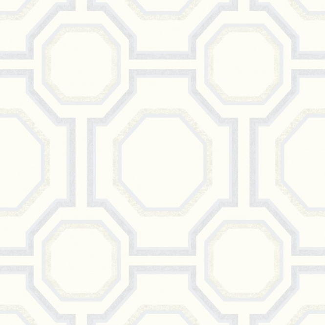 Arthouse **Sample** Symmetry Geometric Wallpaper Pearl (693900-SAMPLE)