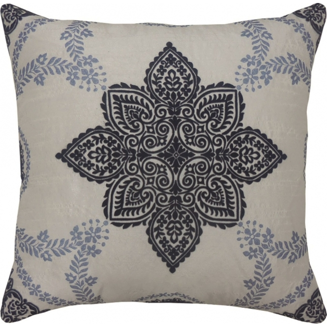Arthouse Sophie Conran Anise Medallion Cushion Blue (008318)