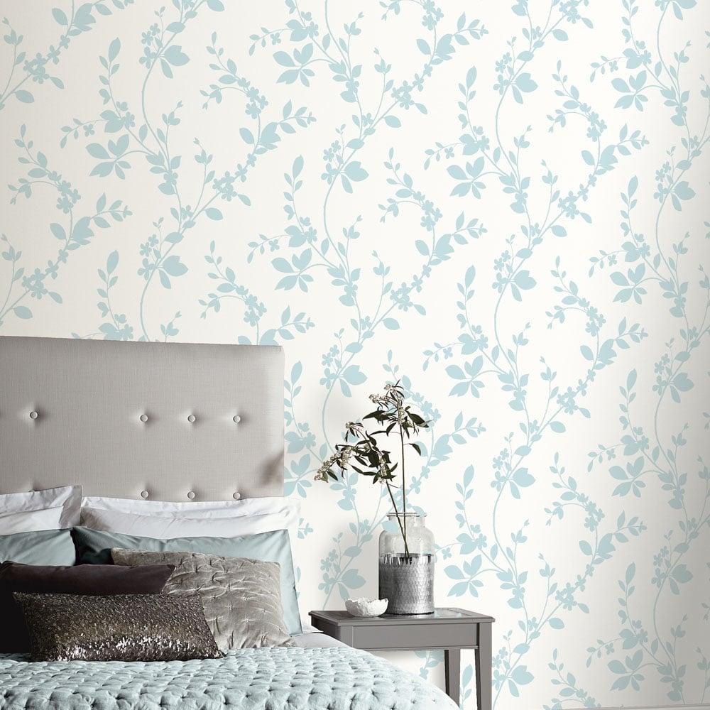 Arthouse vintage lavinia wallpaper duck egg 891700 - Art house wallpaper uk ...