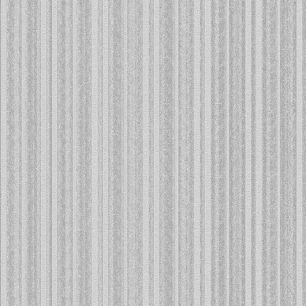Vintage Messina Stripe Wallpaper Silver 270701