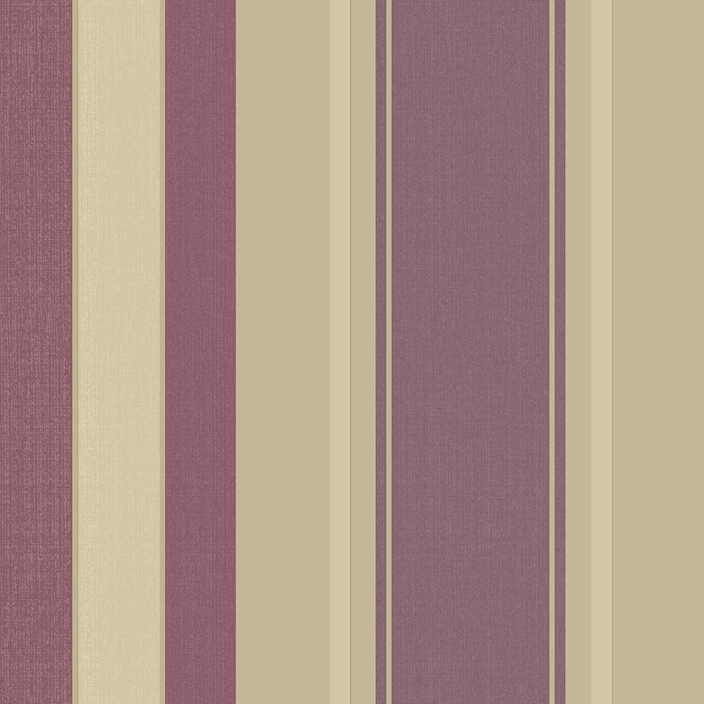 Vintage Palazzo Stripe Wallpaper Mulberry 290500