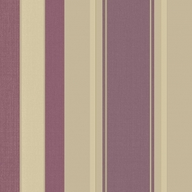 Vintage Palazzo Stripe Wallpaper Mulberry (290500)