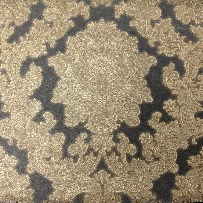 Arthouse Vintage Vicenza Damask Wallpaper Black (270405)