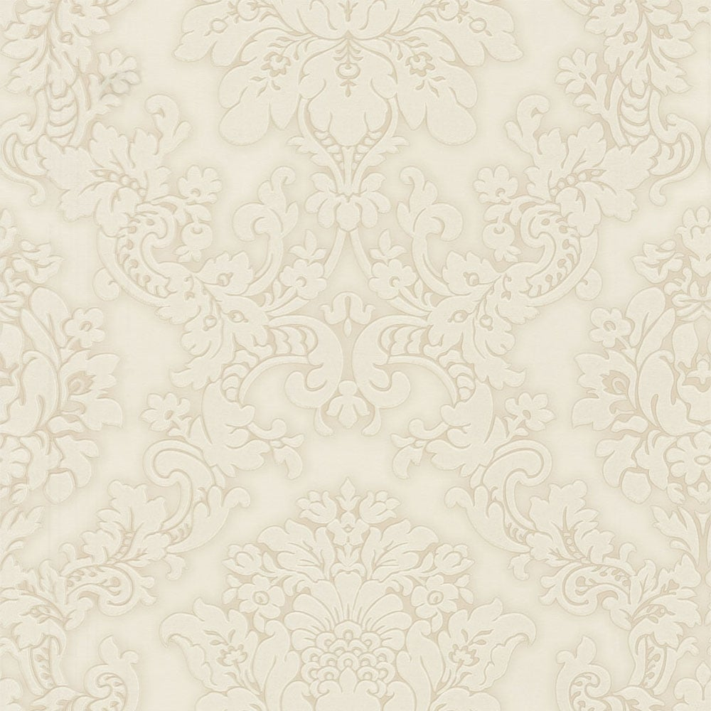 Arthouse Vintage Vicenza Damask Wallpaper Cream (270400
