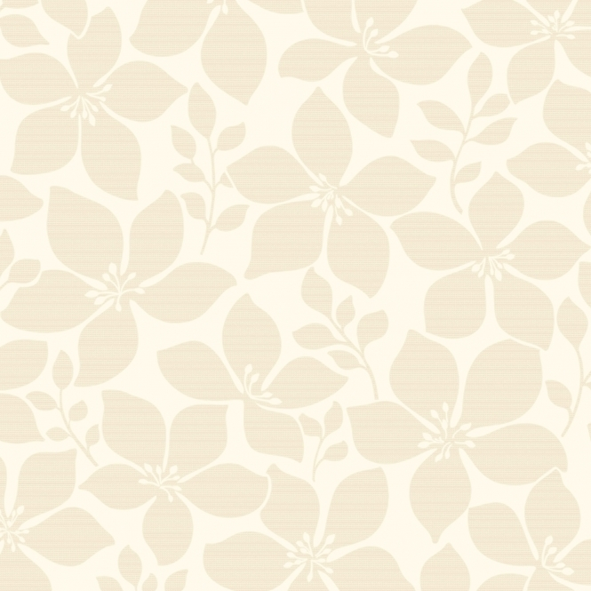 Fine Decor Athena Floral Wallpaper Beige, Cream (FD40396)