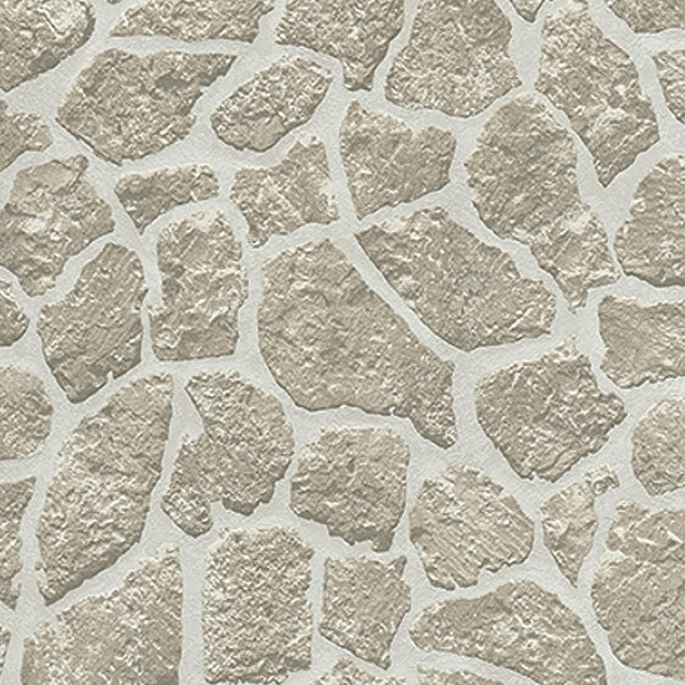 erismann authentic brick wallpaper soft grey 682810