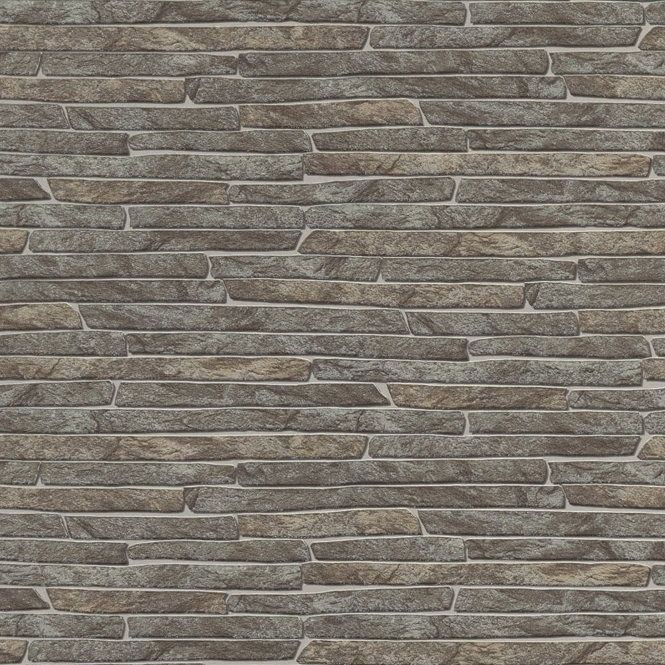 Erismann Authentic Slate Wallpaper Grey (6828-11)