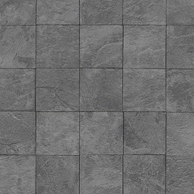 Authentic Tile Wallpaper Charcoal