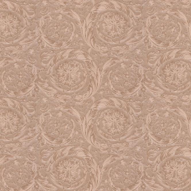 Versace Barocco Metallics Motif Wallpaper Pink Wallpaper