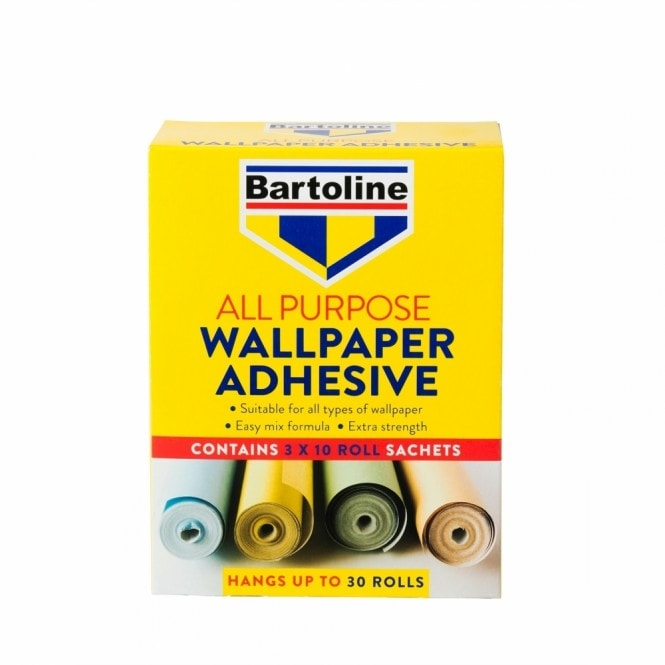 Bartoline All Purpose Wallpaper Adhesive 30 Roll Pack (59943260)