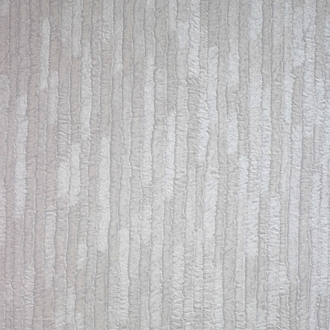 Crown Bergamo Leather Texture Wallpaper Off White, Silver (M1400)
