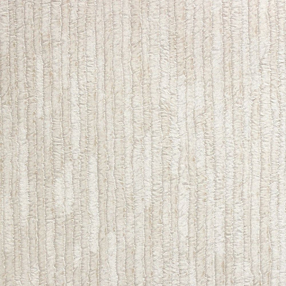 Crown Bergamo Leather Texture Wallpaper Silver Cream