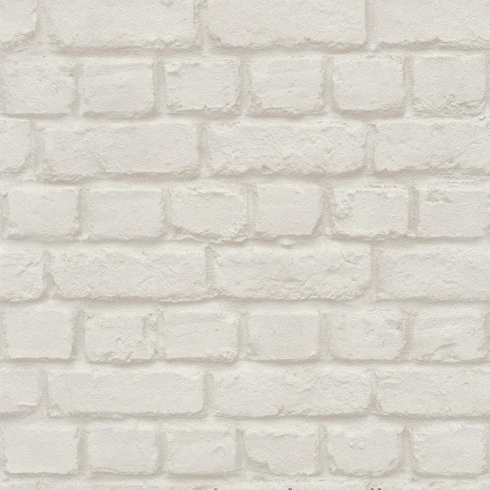 Brick Wall Effect Wallpaper White 587210 Wallpaper From I Love Wallpaper Uk