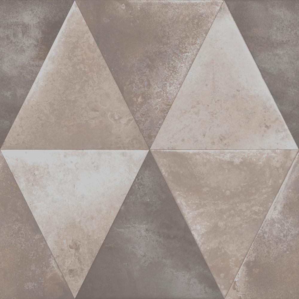 Muriva Caden Triangle Wallpaper Taupe