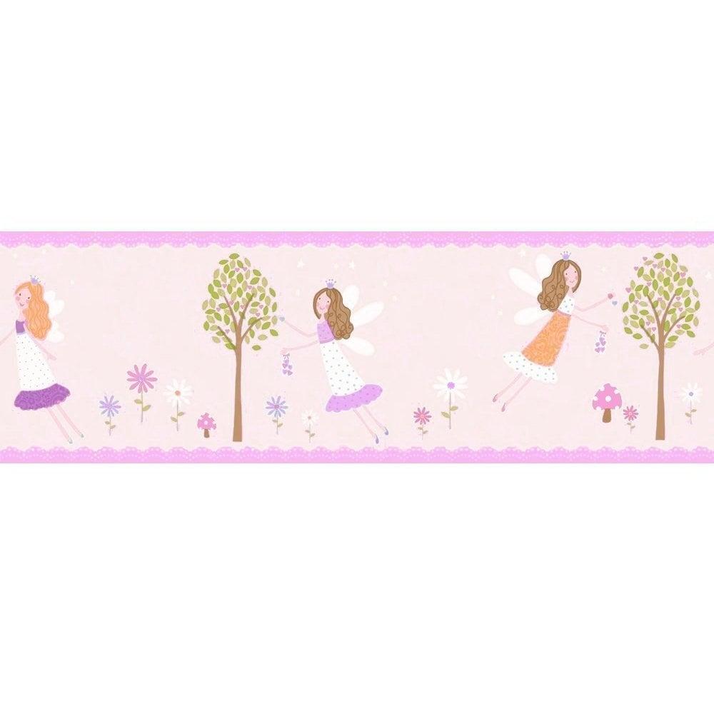 Decorline Carousel Fairy Garden Border Lilac Dlb50085