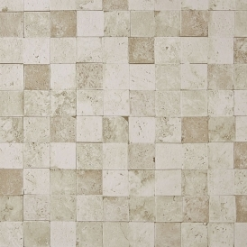 Carreaux Pierre Stone Tile Wallpaper Beige