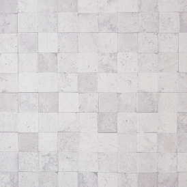 Carreaux Pierre Stone Tile Wallpaper White