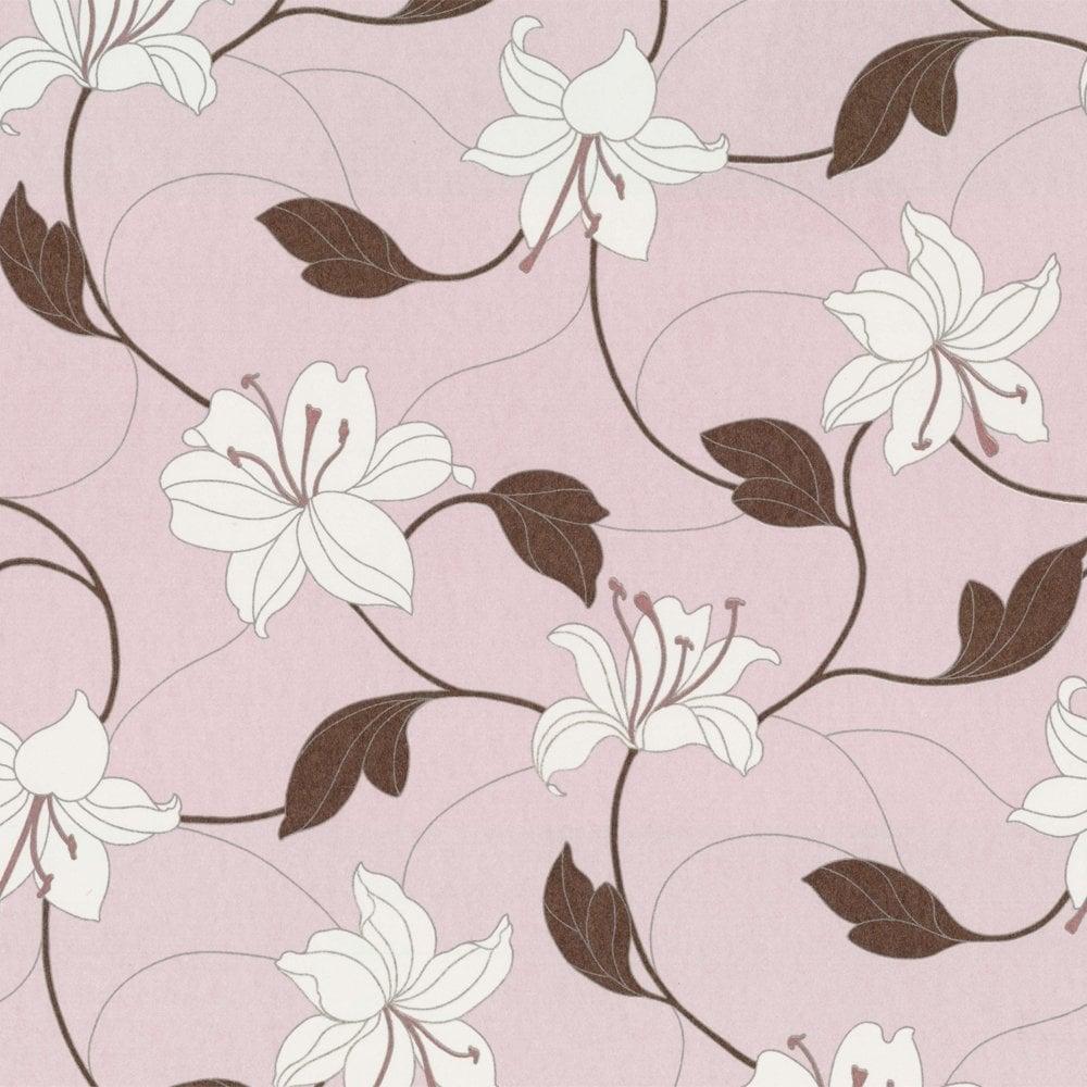 Pink Wallpaper Bedroom Patterned Girls Bedroom Wallpaper At I Love Wallpaper