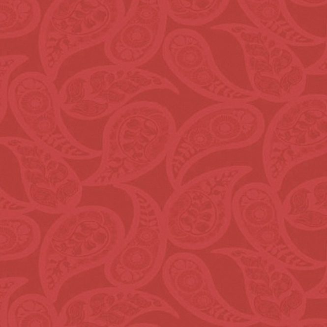 Casadeco Midnight 2 Floral Wallpaper Red (19198124)