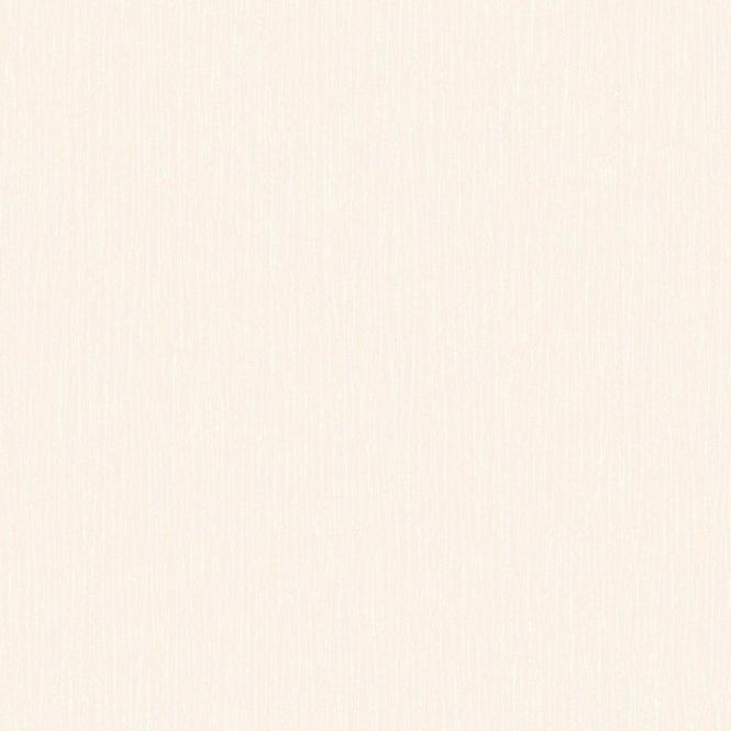 Crown Raw Silk Plain Wallpaper In Cream With Silver