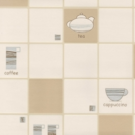 Ceramica Cafetiere Wallpaper Natural Beige / Cream (FD13048)