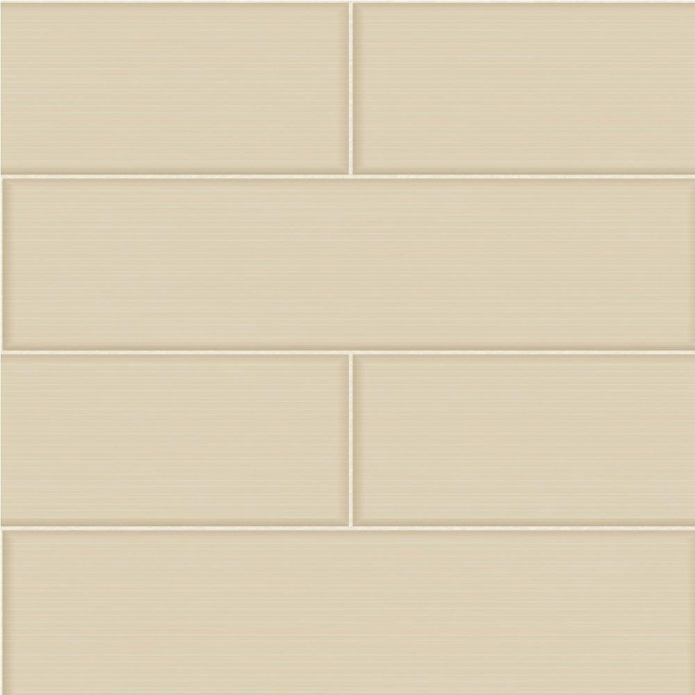 Fine Decor Ceramica Large Tile Effect Wallpaper Cream