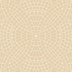 Ceramica Mosaic Tile Effect Washable Wallpaper Cream, White (FD40131)