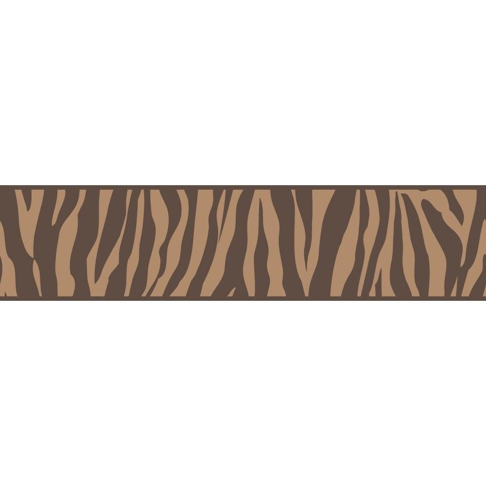Fine Decor Ceramica Zebra Animal Print Self Adhesive