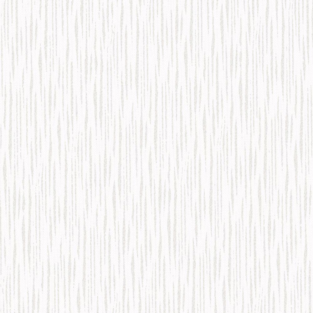 Chelsea Glitter Plain Textured Wallpaper White, Silver ...