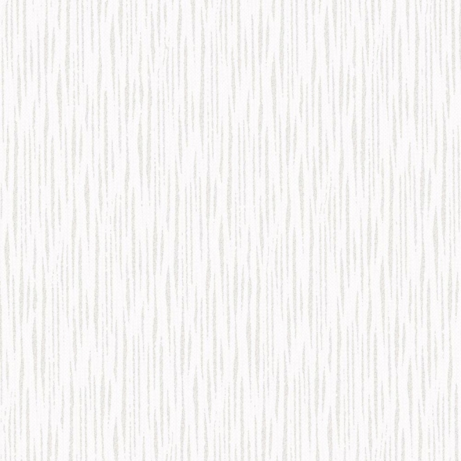 Henderson Interiors Chelsea Glitter Plain Textured Wallpaper White, Silver (H980503)