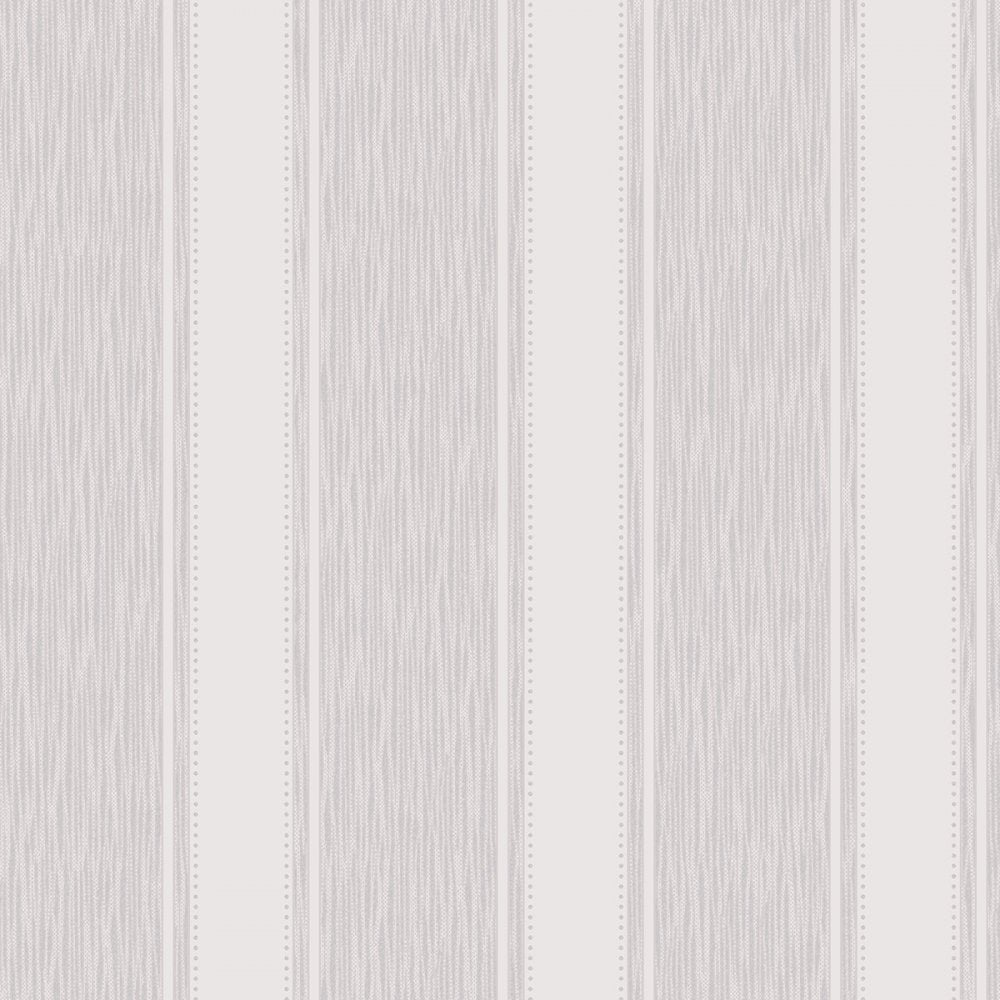 Henderson interiors chelsea glitter stripe wallpaper soft for Grey patterned wallpaper